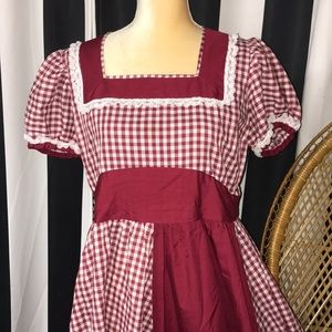 Vintage Square Dance Dress